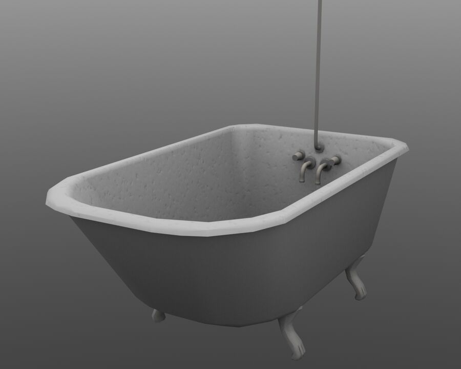 Мебель royalty-free 3d model - Preview no. 26