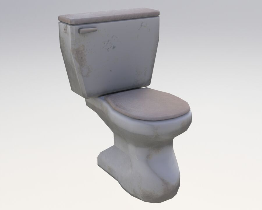 家具类 royalty-free 3d model - Preview no. 8