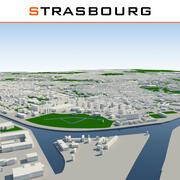Ville de Strasbourg terminée 3d model