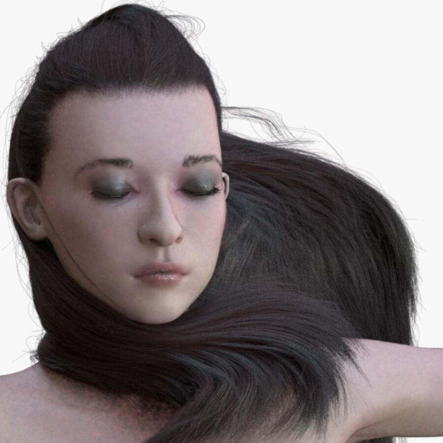 Femme truquée royalty-free 3d model - Preview no. 3