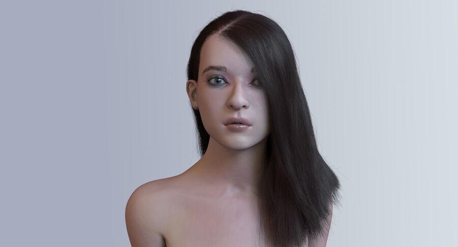 Femme truquée royalty-free 3d model - Preview no. 2