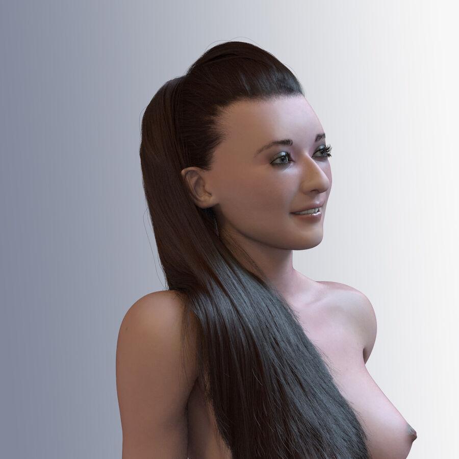 Femme truquée royalty-free 3d model - Preview no. 4