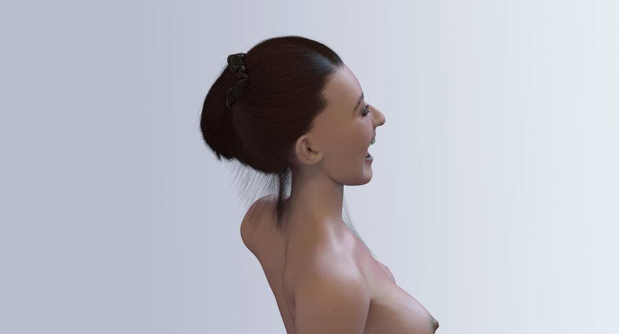 Femme truquée royalty-free 3d model - Preview no. 7