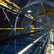 SciFi Tüneli 3d model