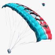Parachute Animated 3d model