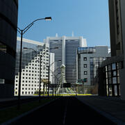 City Intersection 2015 3d model