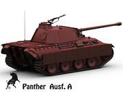 パンサーAusf。あ 3d model