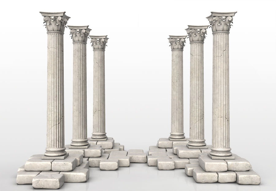 Colonne royalty-free 3d model - Preview no. 2