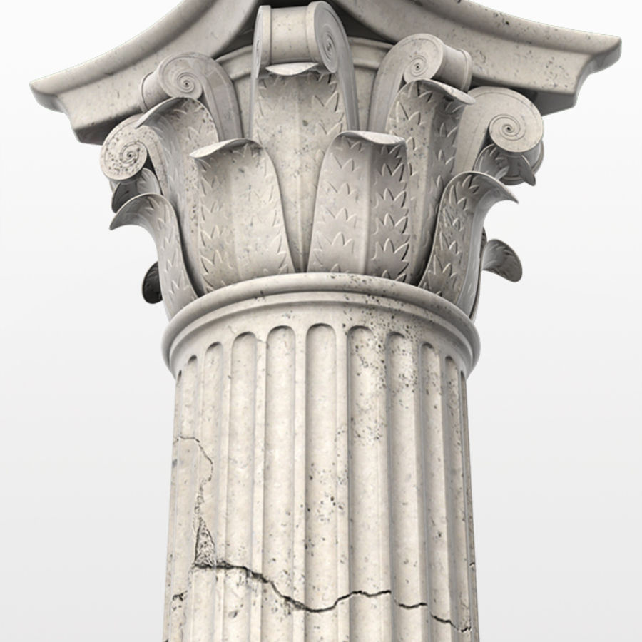 Column royalty-free 3d model - Preview no. 3