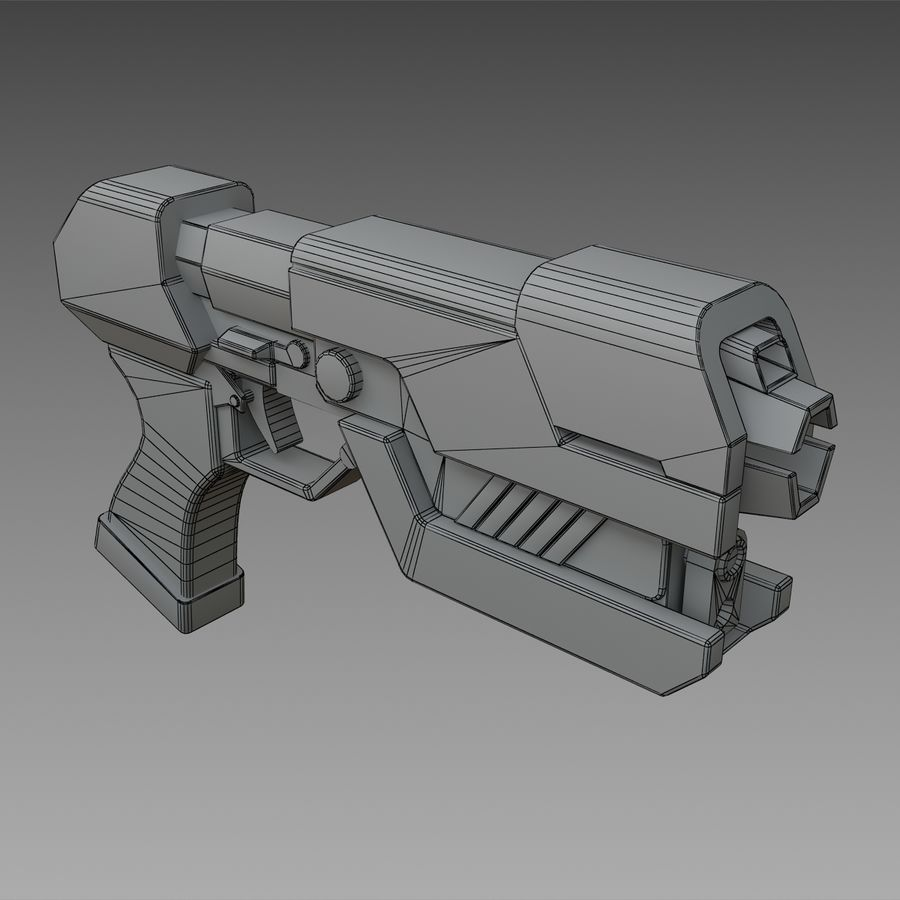 Paralyzer royalty-free 3d model - Preview no. 5