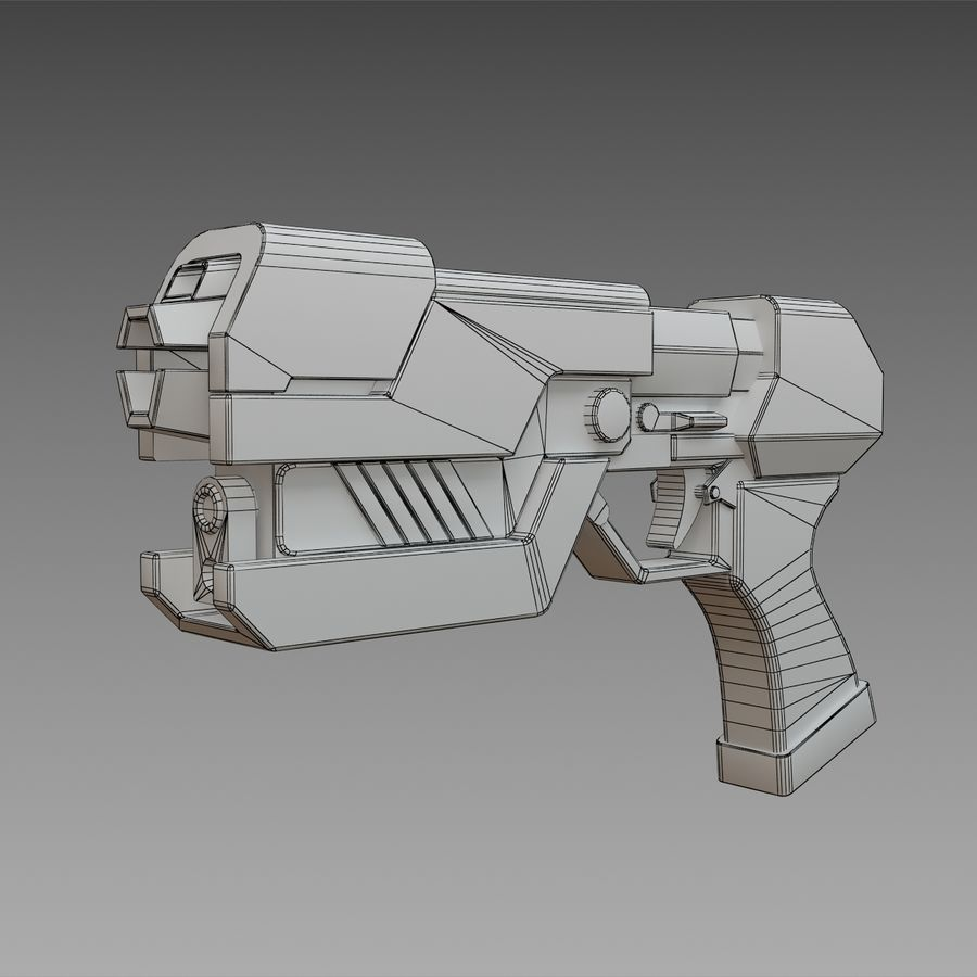 Paralyzer royalty-free 3d model - Preview no. 6