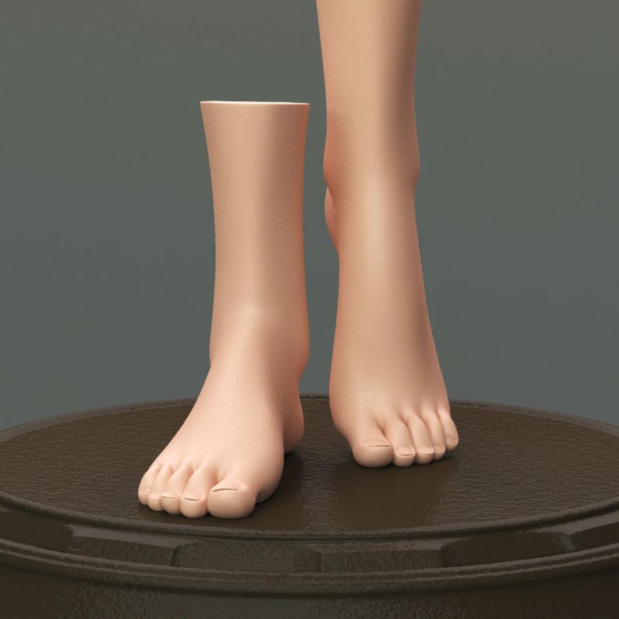 female feet 3d model $25 - .ma .obj .fbx - free3d