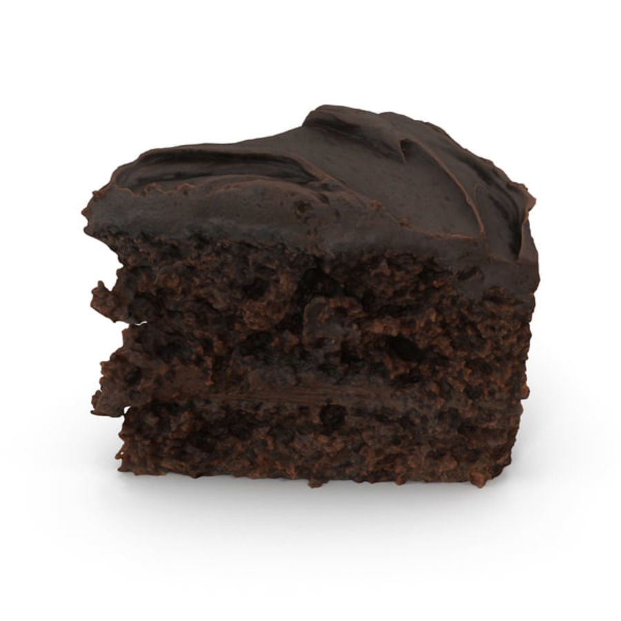 Cake D Model Obj