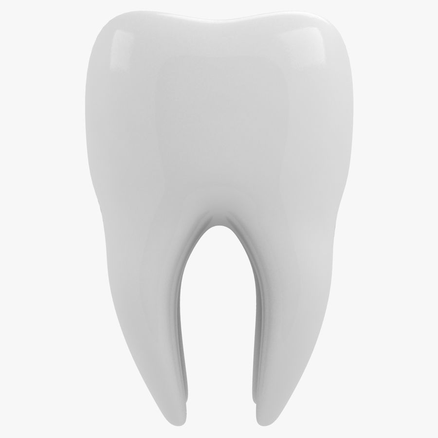 Tooth royalty-free 3d model - Preview no. 4