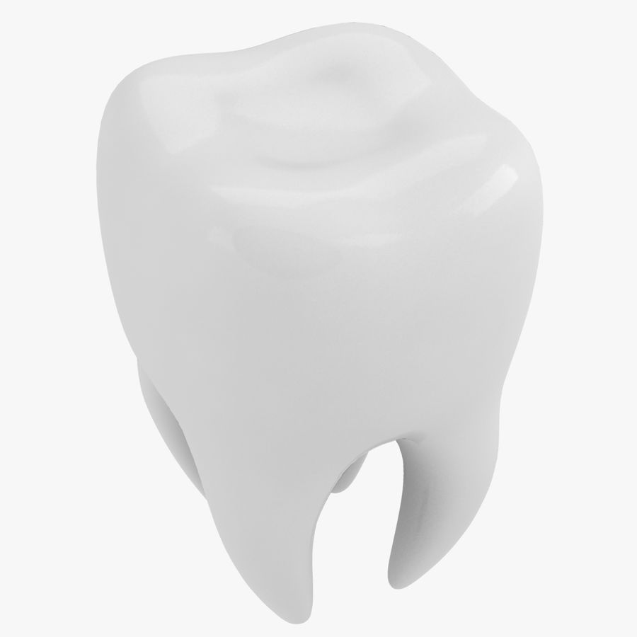 Tooth royalty-free 3d model - Preview no. 2