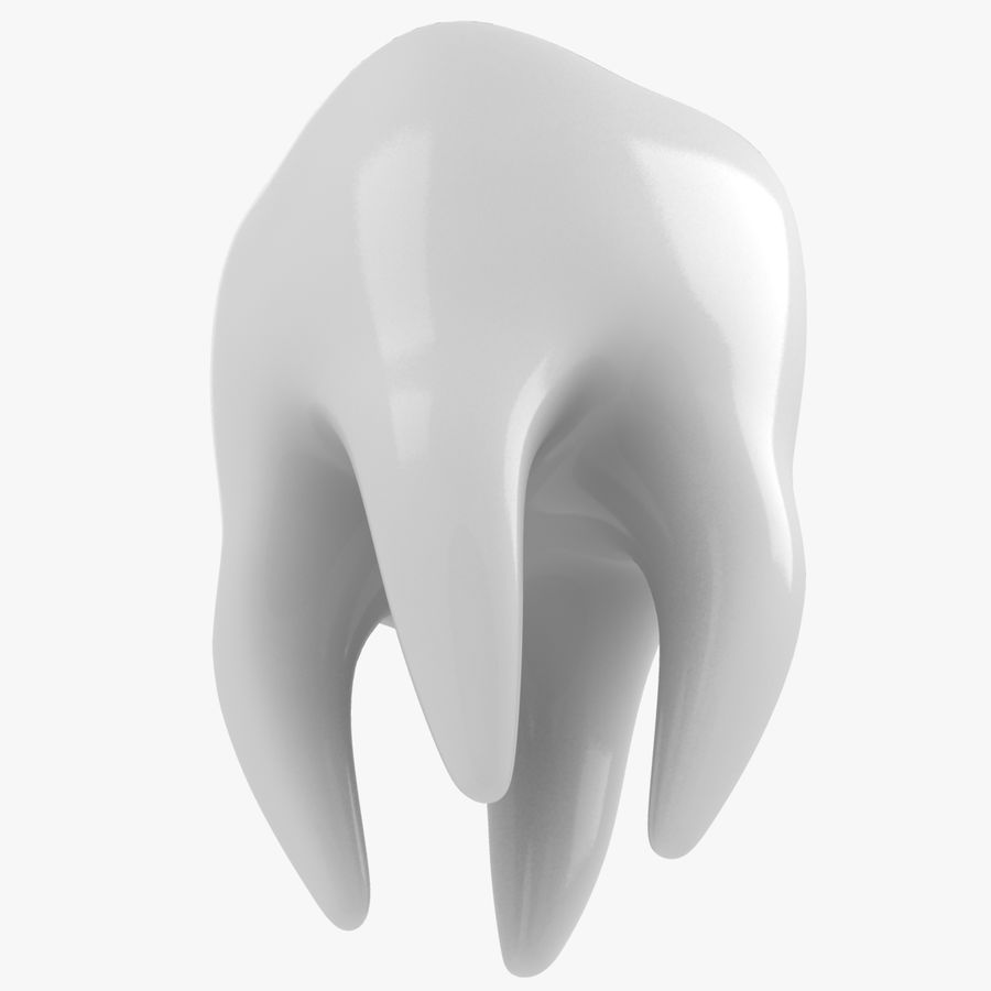 Tooth royalty-free 3d model - Preview no. 3