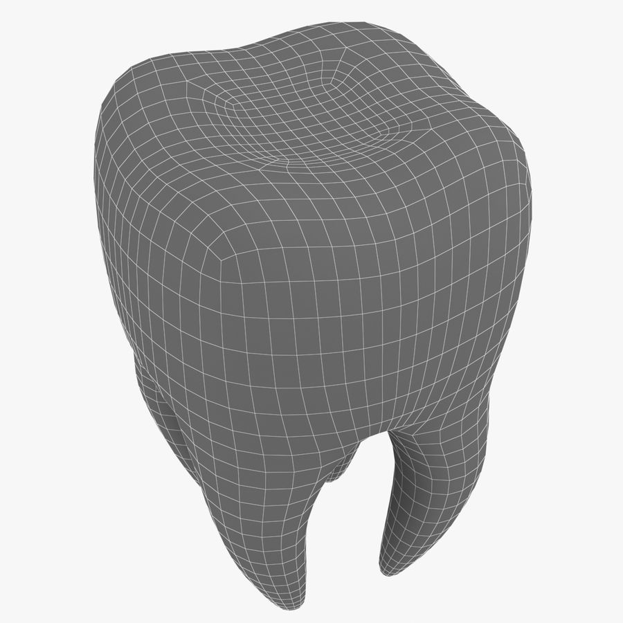 Tooth royalty-free 3d model - Preview no. 8