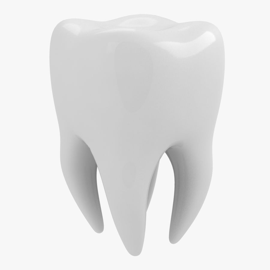 Tooth royalty-free 3d model - Preview no. 1