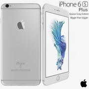 Apple iPhone 6s Plus, prateado 3d model