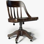 恢复硬件Keating桌椅 3d model