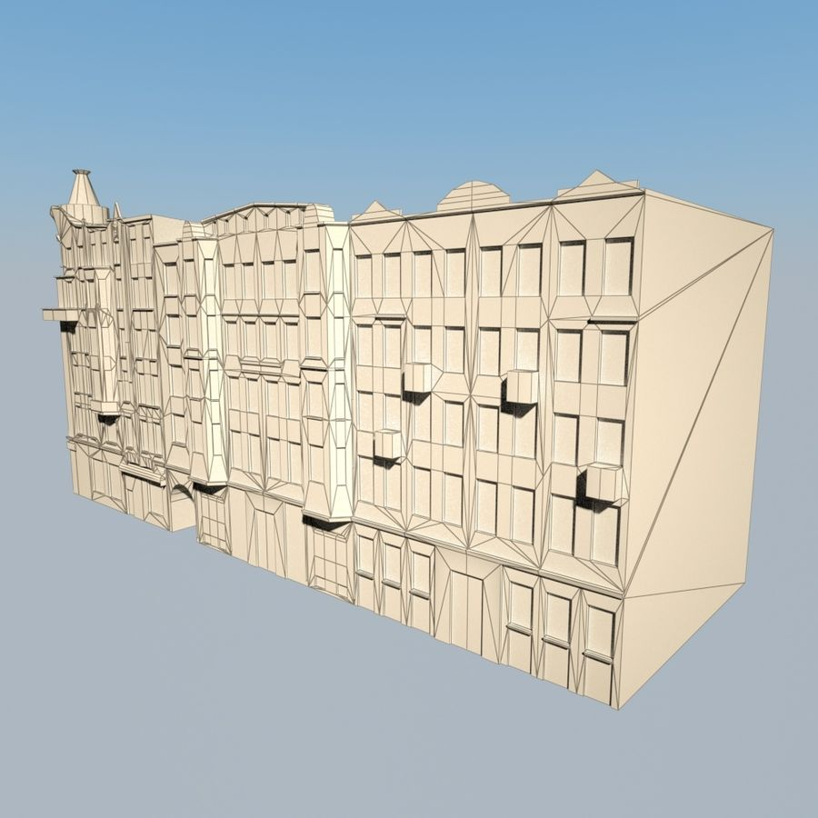 Building royalty-free 3d model - Preview no. 7
