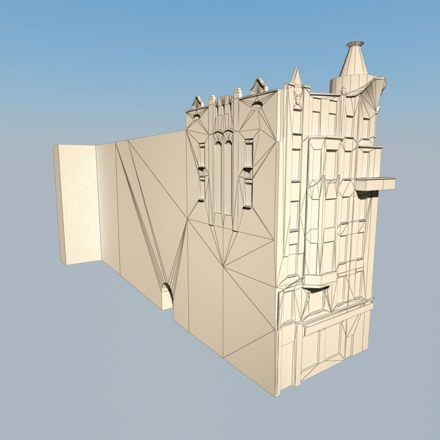 Building royalty-free 3d model - Preview no. 6