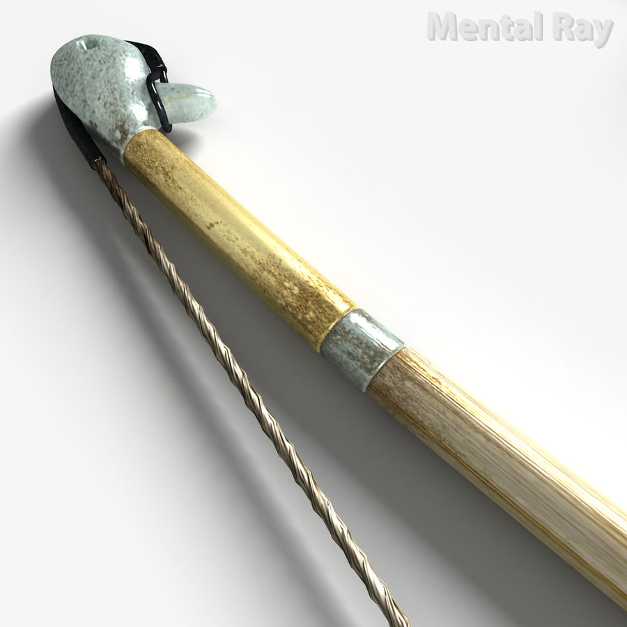 Assyrian Bow Arrows royalty-free 3d model - Preview no. 16
