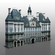Maison française v2 3d model