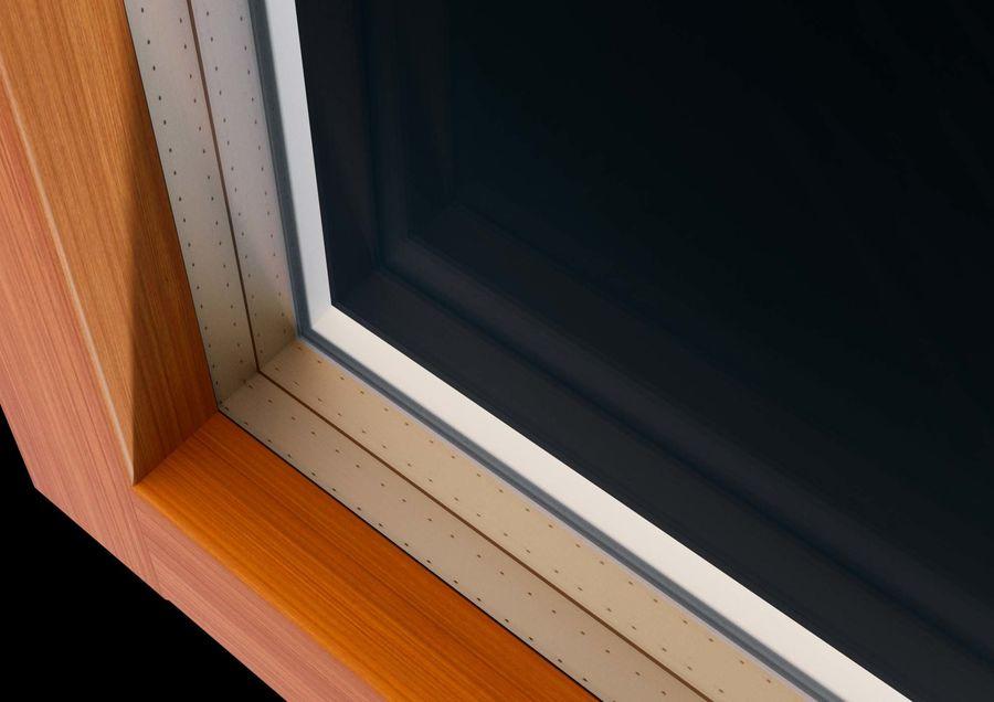 Französische Doppeltür - Doppeltürfenster royalty-free 3d model - Preview no. 8