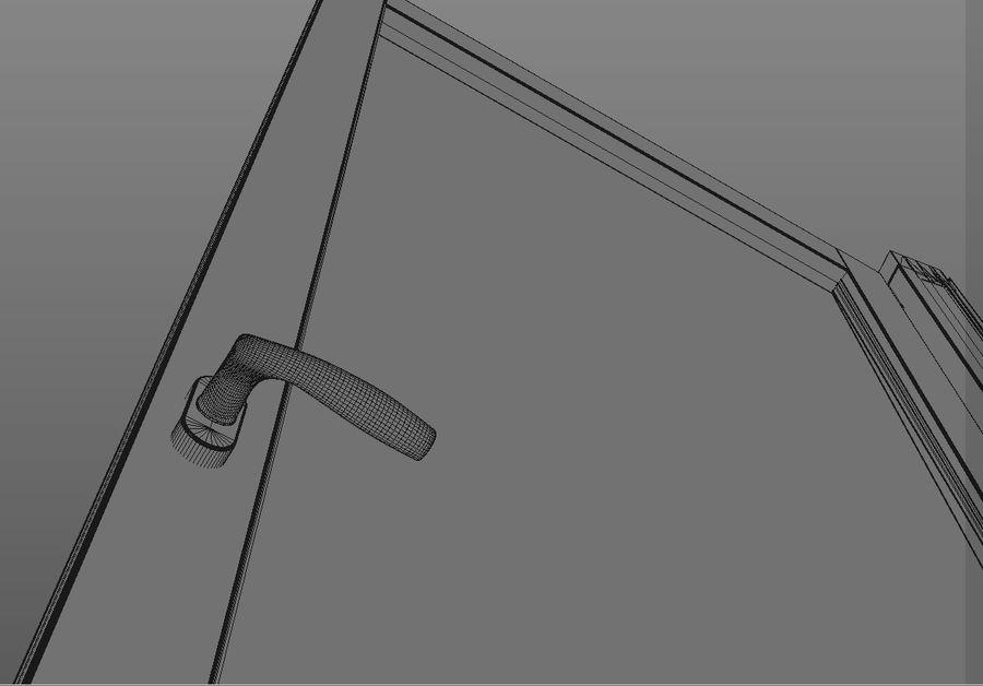 Französische Doppeltür - Doppeltürfenster royalty-free 3d model - Preview no. 9