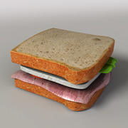 сандвич 3d model