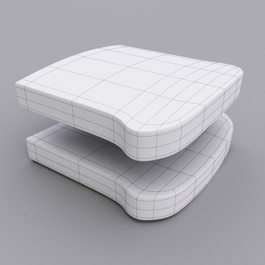 сандвич royalty-free 3d model - Preview no. 13