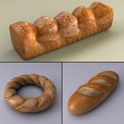 烘焙食品 3d model
