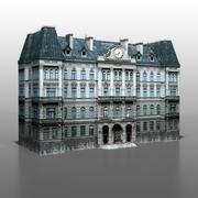 Frans huis v3 3d model