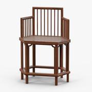 Chińskie krzesło 3d model