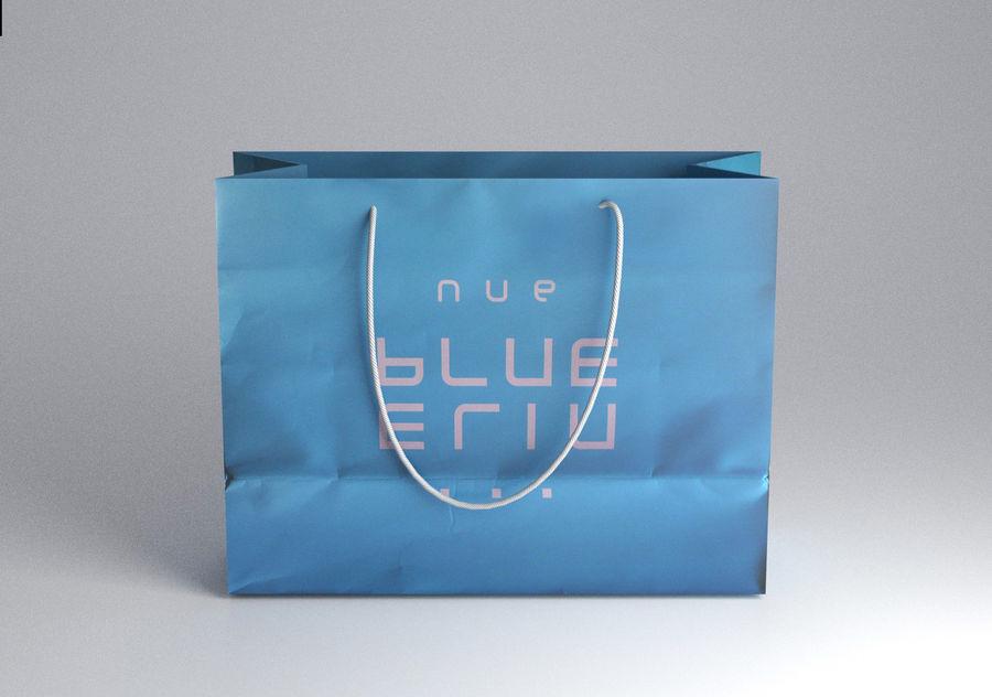 Shopping Bag royalty-free 3d model - Preview no. 4
