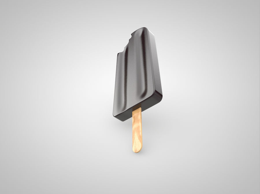 Ice cream royalty-free 3d model - Preview no. 2