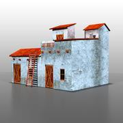 Spaans huis v5 3d model