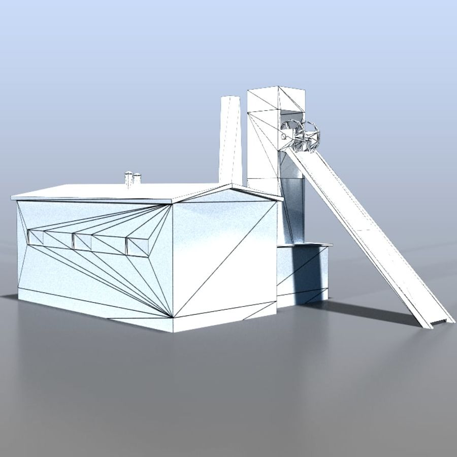 炭鉱 royalty-free 3d model - Preview no. 6