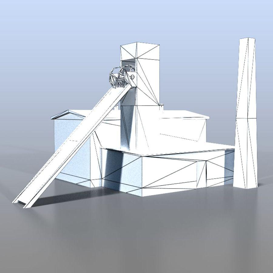 炭鉱 royalty-free 3d model - Preview no. 7