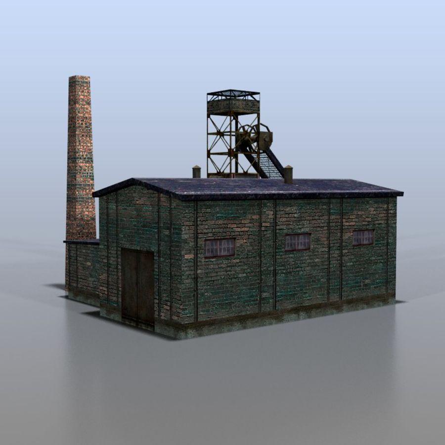 炭鉱 royalty-free 3d model - Preview no. 5