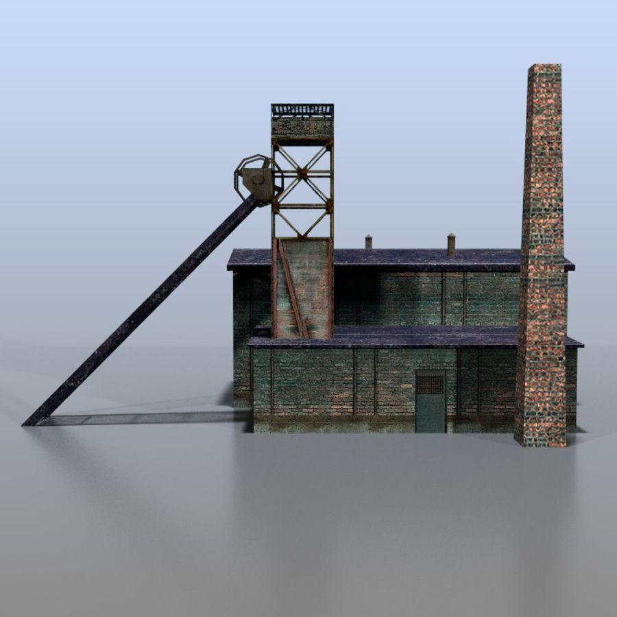 炭鉱 royalty-free 3d model - Preview no. 2