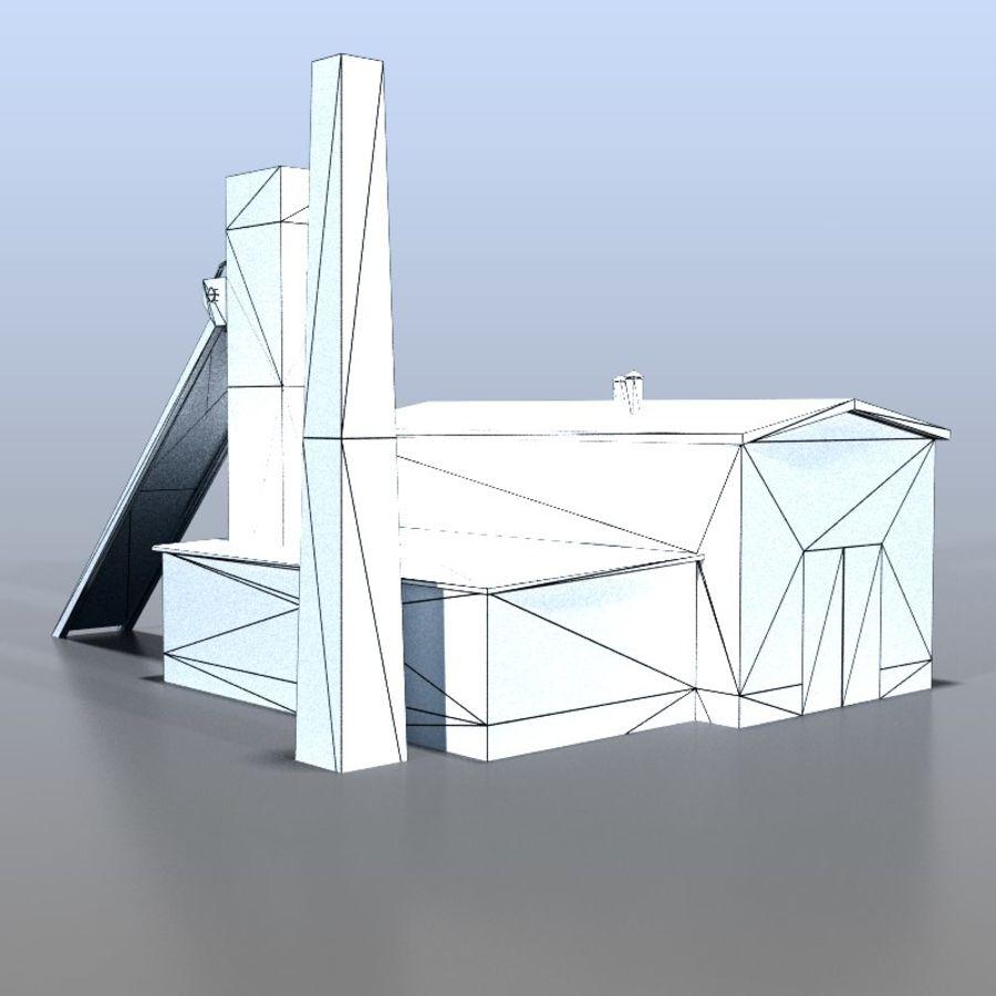 炭鉱 royalty-free 3d model - Preview no. 8