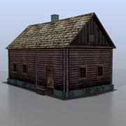 Belarusian house v2 3d model