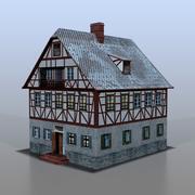 Duits huis v6 3d model