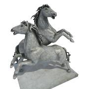 Estatua del caballo modelo 3d