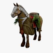 Monk_Horse 3d model