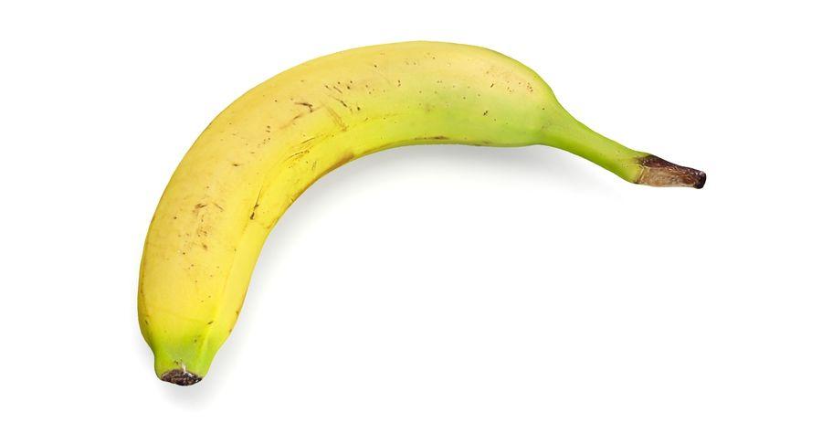 바나나 royalty-free 3d model - Preview no. 5