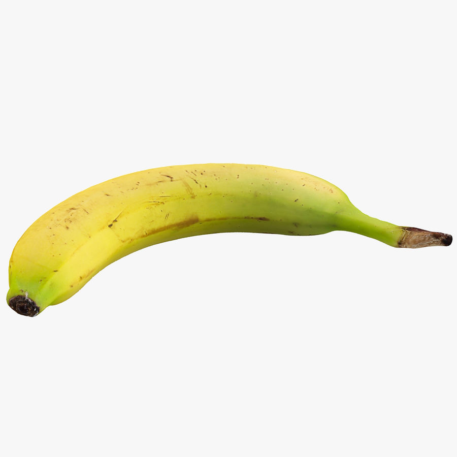 Banana royalty-free 3d model - Preview no. 1