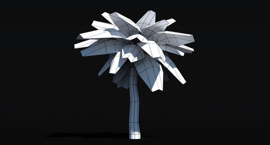 Palma Low Poly royalty-free 3d model - Preview no. 8